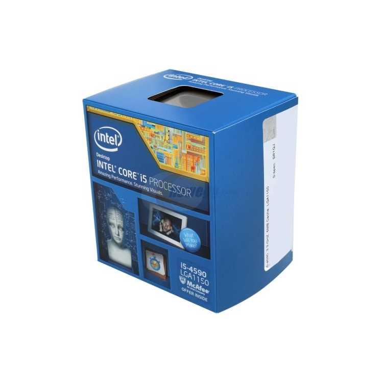 Intel Core i5-4590 Haswell 4 ядра, 3300МГц, BOX