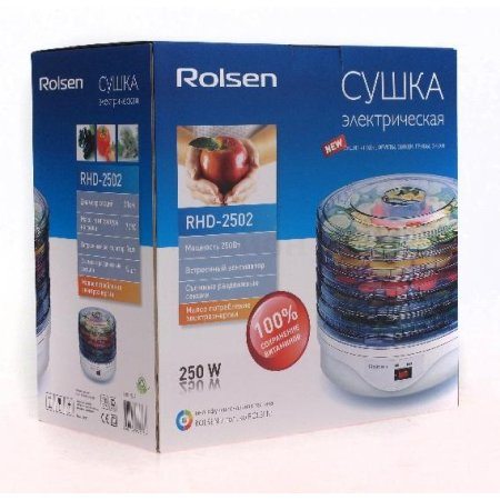 Rolsen RHD-2502 Белый, конвективная