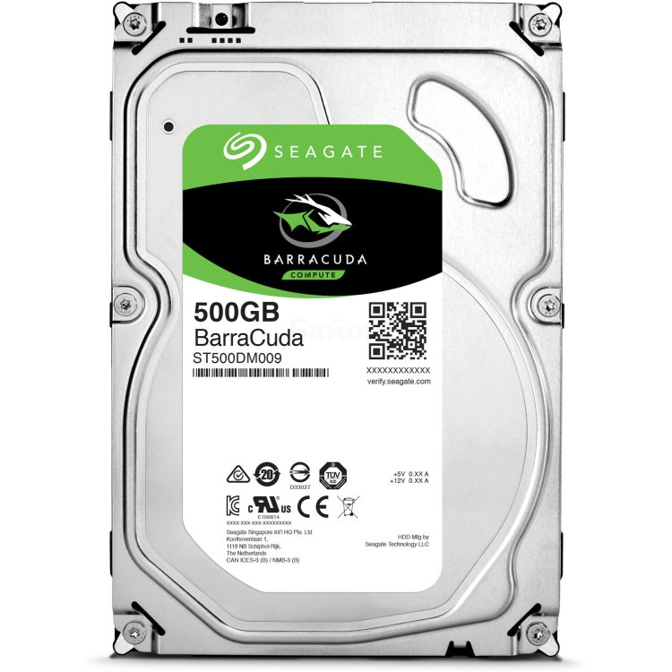 "Seagate ST500DM009 Barracuda 500Гб, 3.5"" HDD"