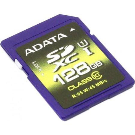 A-Data Premier Pro ASDX128GUI1CL10-R SDXC, 128Гб, Class 10