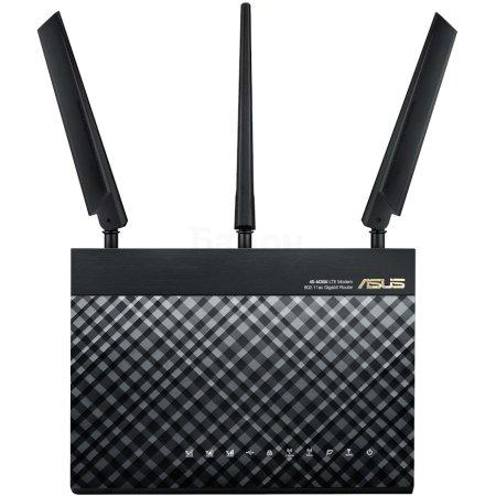 ASUS 4G-AC55U Черный, 1167Мбит/с, 5, 2.4