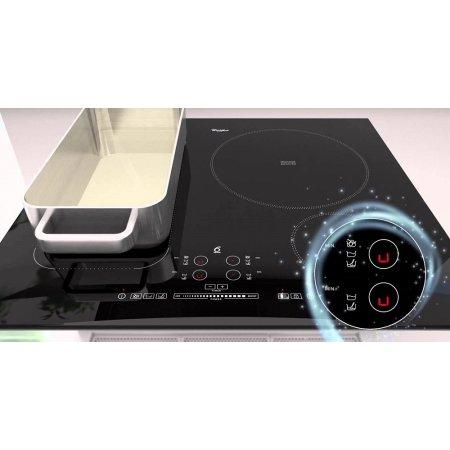 Whirlpool ACM 822 NE Черный, Индукционная, Стеклокерамика