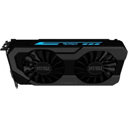 Palit GeForce GTX 1060 SUPER JETSTREAM 6144M, GDDR5, 1620MHz , PCI-Ex16 3.0 GTX 1060 SUPER JETSTREAM - 6144M, GDDR5, 1620MHz , PCI-Ex16 3.0
