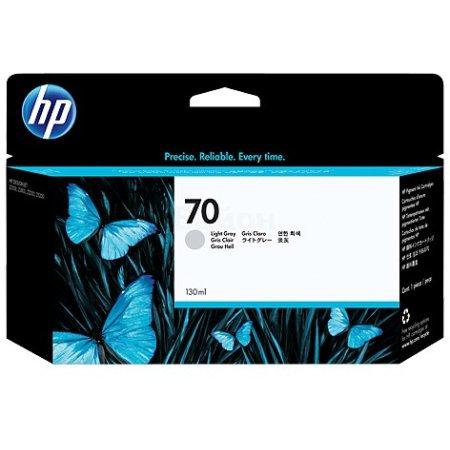 HP 70 Светло-серый, Картридж струйный, Стандартная, нет