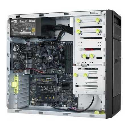Asus ESC500 G4 LGA1151, нет, 1U