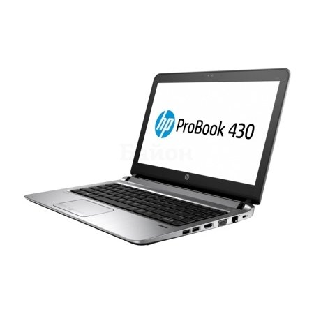 "HP ProBook 430 G3 13.3"", Intel Core i3, 2300МГц, 4Гб RAM, DVD нет, 500Гб, Windows 10, Windows 7, Черный, Wi-Fi, Bluetooth"