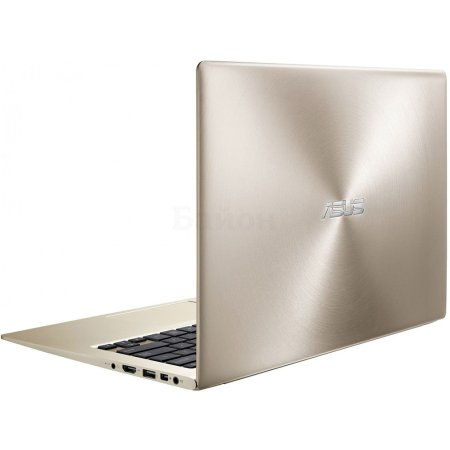 "Asus UX303UA-FN217T 13.3"", Intel Core i3, 2300МГц, 4Гб RAM, DVD нет, 128Гб, Золотой, Wi-Fi, Windows 10, Bluetooth"