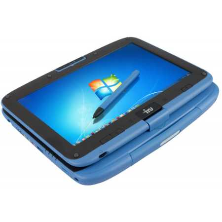 "iRu School transformer 108 10.1"", Intel Atom, 1600МГц, 2Гб RAM, DVD нет, 500Гб, Синий, Wi-Fi, без ОС"