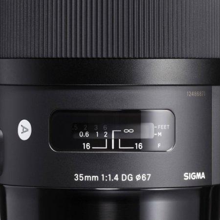 Sigma AF 35mm f/1.4 DG HSM Canon EF + адаптер MC-11