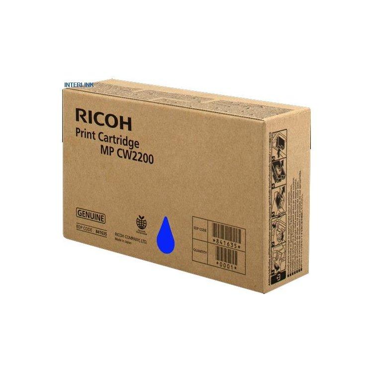 Ricoh MP CW2200 Голубой, Тонер-картридж, Стандартная, нет