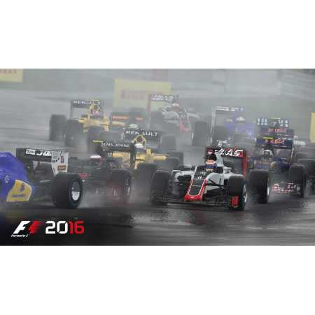 F1 2016 Sony PlayStation 4, Стандартное издание, Русский язык