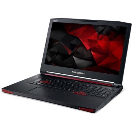 "Acer Predator G9-792-56UE 17.3"", Intel Core i5, 2300МГц, 16Гб RAM, DVD-RW, 1Тб, Linux, Черный, Wi-Fi"