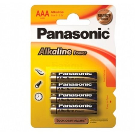 Panasonic Alkaline Power 4BP AAA, 4