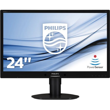"Philips 241B4LPYCB 24"", Черный, DVI, Full HD"