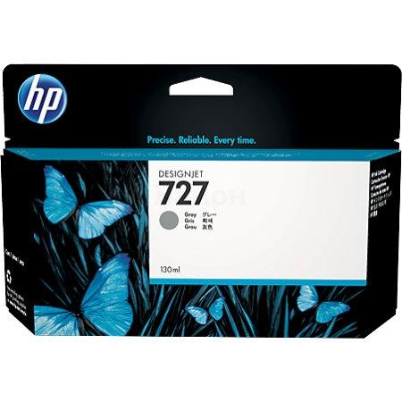 HP 727 Серый, Картридж струйный, Стандартная, нет