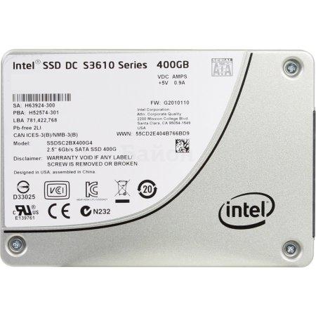 Intel DC S3610 400Гб