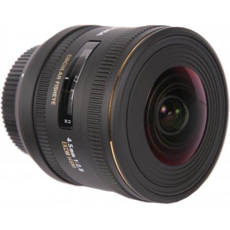 Sigma AF 4.5mm f/2.8 EX DC HSM «Рыбий глаз», Nikon F