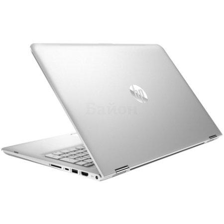 "HP Pavilion 15x360 15.6"", Intel Core i7, 2500МГц, 8Гб RAM, 1Тб, Серебристый, Wi-Fi, Windows 10, Bluetooth"