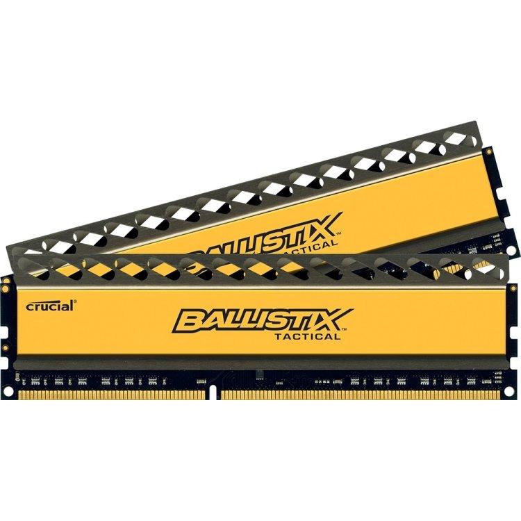 Crucial Ballistix Tactical BLT2C4G3D21BCT1J DDR3, 2, 8Гб, PC3-17000, 2133МГц, DIMM