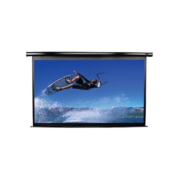 Экран Elite Screens 168.1x299см VMAX2 VMAX135XWH2 16:9 настенно-потолочный рулонный белый (моторизованный привод)