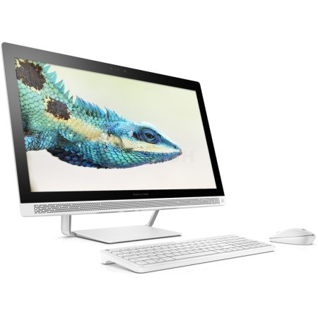 HP 27-a154ur нет, Белый, 8Гб, 1000Гб, Windows, Intel Core i5