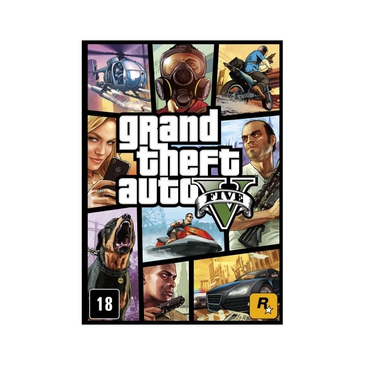 Grand Theft Auto V PC, стандартное издание, цифровой код