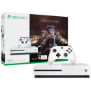 Xbox One S 1 Тб Assasin's Creed Origins + Tom Clancy's Rainbow Six Белый