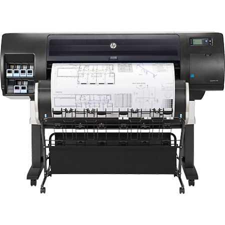HP Designjet T7200 F2L46A Чертежи, Схемы, Фотографии, Реклама, Струйный, A1