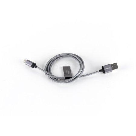 Rombica Digital IB-03 1м, USB-A, Lightning, Серый