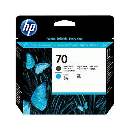 HP Inc. Печатающие головка HP 70 матово/черный + синий для Designjet Z2100/Z5200