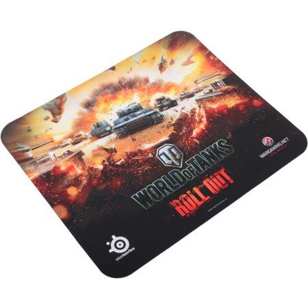 Steelseries QcK World of Tanks Edition 749570 Черный, Игровой, Обычный