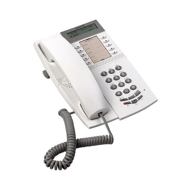 Aastra Dialog 4222 Office Системный TDM-телефон, Серый, 1 трубка