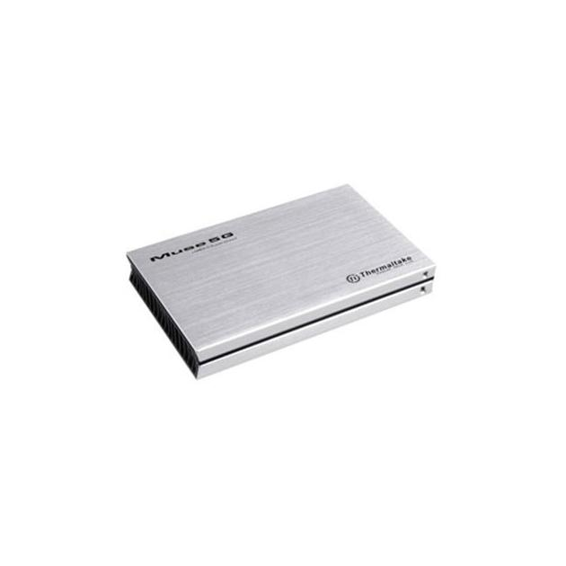 "Внешний корпус для HDD Thermaltake Muse 5G ST0041Z SATA III пластик/алюминий серебристый 2.5"""