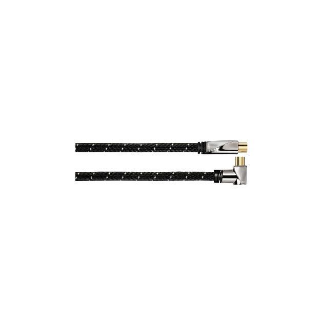 Кабель антенный Avinity H-107648 Coax (m)/Coax (f) 3м. Позолоченные контакты (00107648)