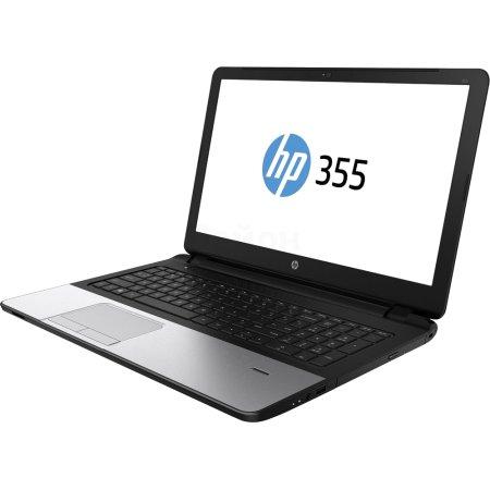 "HP 355 G2 15.6"", AMD A8, 2000МГц, 4Гб RAM, 500Гб, Серебристый, Wi-Fi, Windows 7, Windows 8.1, Bluetooth"