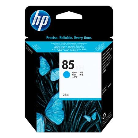 HP Inc. Cartridge HP 85 DsgJ 30/30N/30GP/90/90R/90GP/130/130NR/130GP, синий (28 ml)