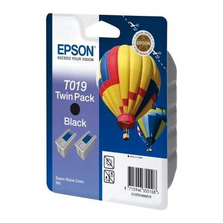 Epson C13T01940210 Stylus Color 880 Черный, Картридж струйный, Стандартная, нет