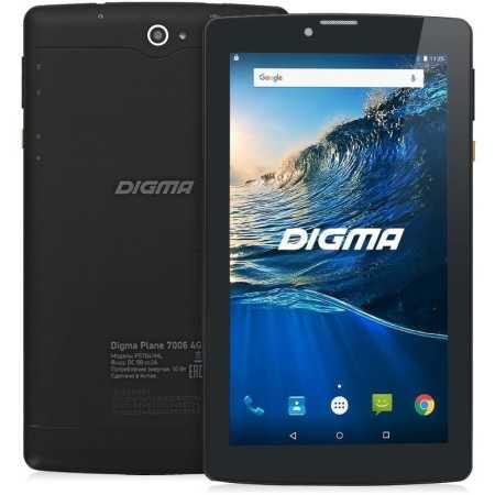 Digma Plane 7006 Wi-Fi и 3G/ LTE, Черный, Wi-Fi, 8Гб