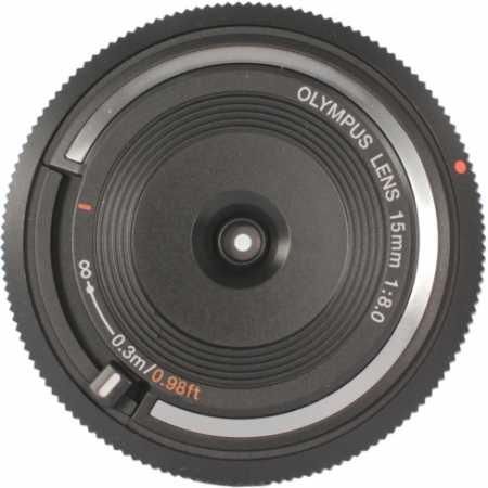 Olympus 15mm f/8.0 Body Cap Lens Micro 4/3