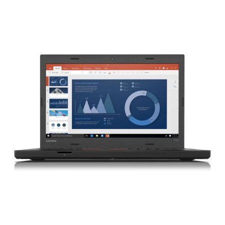 "Lenovo ThinkPad T460p 20FW004WRT 14"", Intel Core i5, 2300МГц, 8Гб RAM, DVD нет, 256Гб, Windows 10 Pro, Черный, Wi-Fi, Bluetooth"