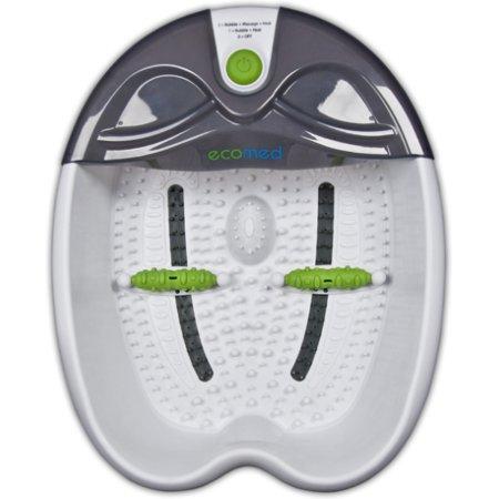 Гидромассажная ванночка для ног Medisana Ecomed Foot Spa 60Вт белый/серый