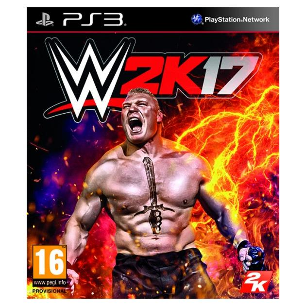 Софтклаб WWE 2K17 Sony PlayStation 3 5026555419895