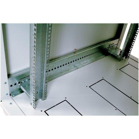 ЦМО Шкаф телекоммуникационный напольный 42U (800x800) дверь стекло (3 места), [ ШТК-М-42.8.8-1ААА ]