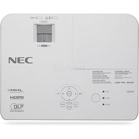 NEC V332W портативный, Белый