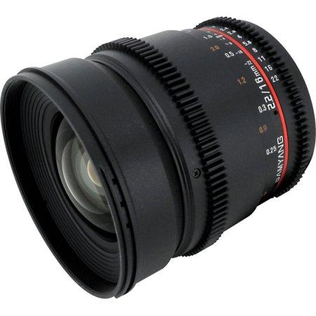 Samyang MF16T2.2CAN Широкоугольный, Canon EF