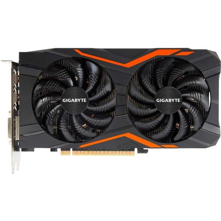 Gigabyte GeForce GTX 1050 Ti 1366Mhz PCI-E 3.0 4096Mb 7008Mhz 128 bit DVI 3xHDMI HDCP G1 Gaming