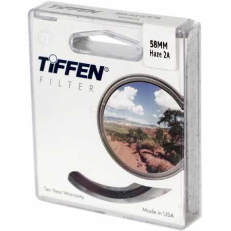 TIFFEN 55MM HAZE 2A FILTER 58