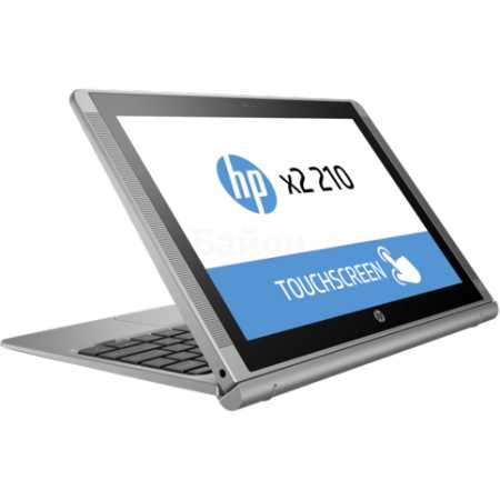 "HP x2 210 G1 L5G96EA 10.1"", Intel Atom, 1440МГц, 2Гб RAM, 64Гб, Серебристый, Wi-Fi, Windows 10 Pro, Bluetooth"