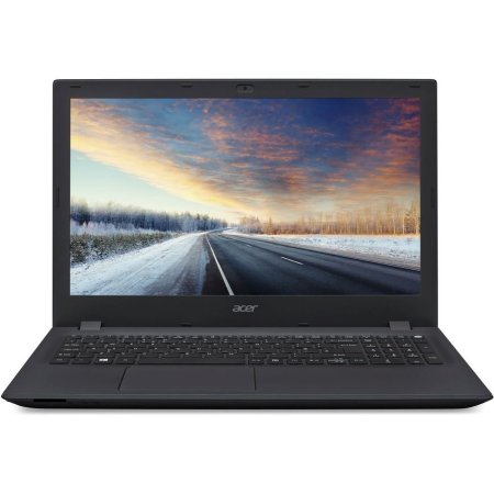 "Acer TravelMate TMP258-M-33WJ 15.6"", Intel Core i3, 2300МГц, 2Гб RAM, DVD нет, 500Гб, Черный, Wi-Fi, Windows 10 Pro, Bluetooth"