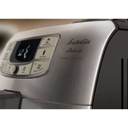 Philips Saeco Intelia Deluxe HD8889/19 Черный, зерновой, молотый, 1.5л, 1850Вт